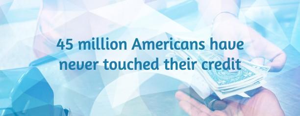 unbanked - 45 million Americans pay cash