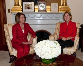 Nancy Pelosi and Elizabeth warren
