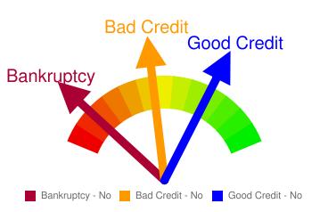 No Credit Check Graph