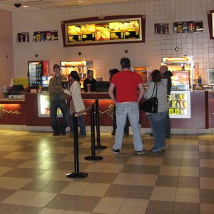 Theater concession stand
