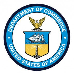 Seal of the U.S. Department of Commerce.