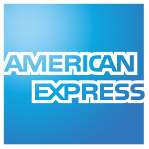 Artist's rendition of the American Express logo.